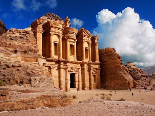 Tour della Giordania, Petra
